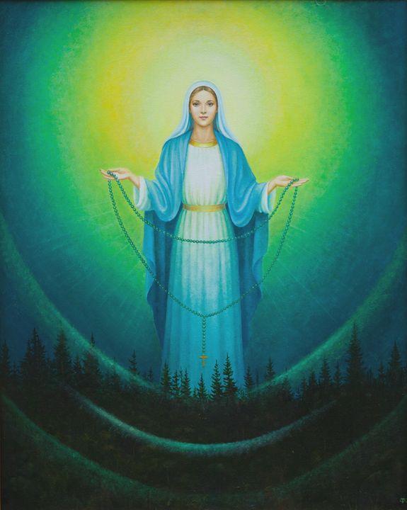 Medjugorje Apparition Virgin Mary - Tatiana F. Light