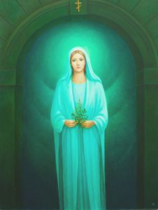 Chernobyl Apparition of Mother Mary