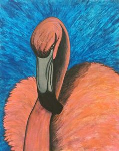 Flamingo - Morgan Carroll Art