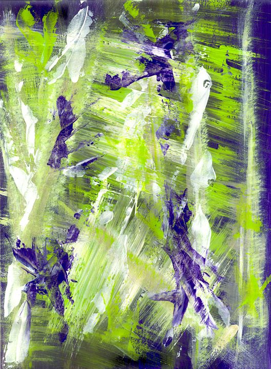 Green Splash - Artworks by John Bruno
