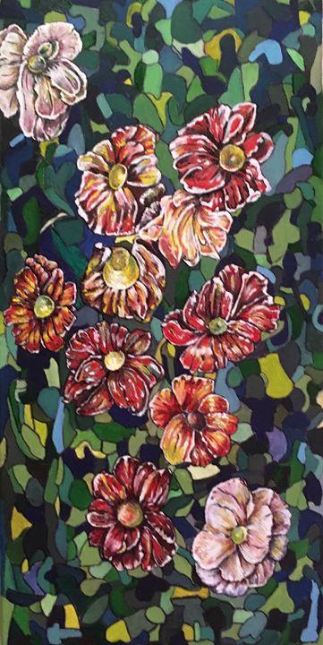 """""""Mosaic Garden"""" - karenkaback"""