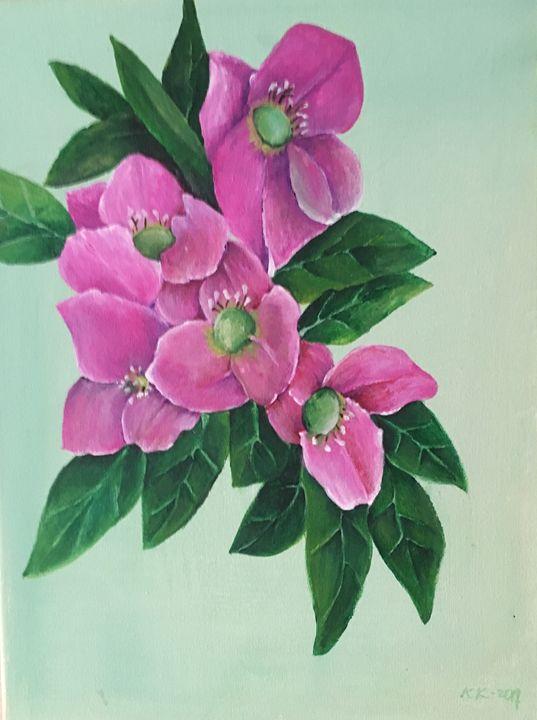 """""""Lenten Roses"""" - karenkaback"""