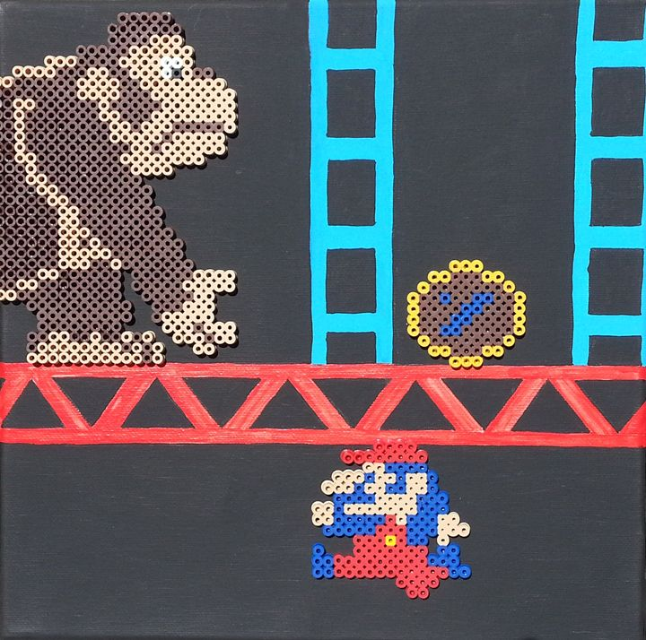 Donkey Kong & Jumpman - Art by Christian Tyner
