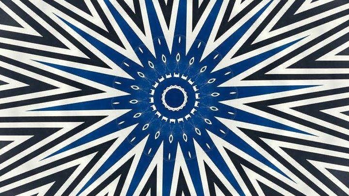 Pointy Blue - JL Robinson