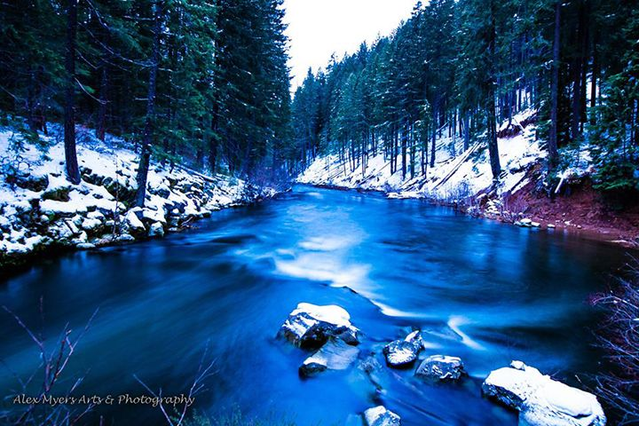 Bend, OR Stream - Alex Myers Arts & Photography