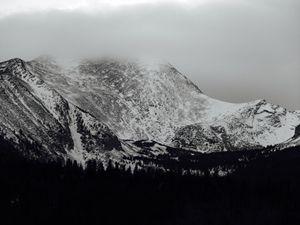 Misty Mountain Tops