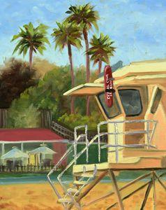 """Crystal Cove lifeguard"""
