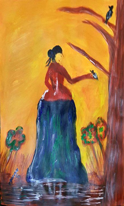 Abstract Art - Syeda Maham Riaz
