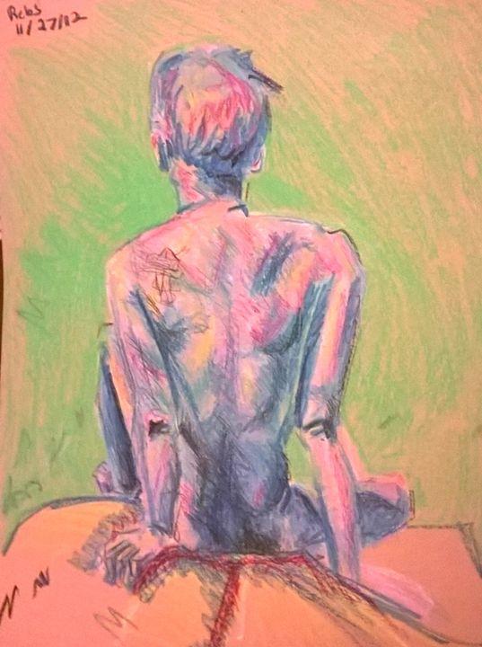 Blue Nude - Art-Teh-Twa