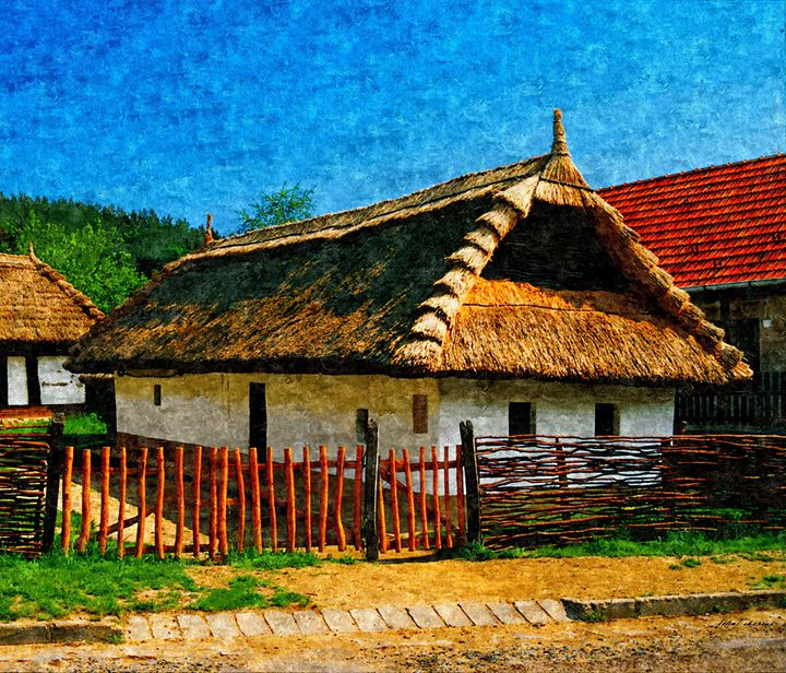 Old rural house - John Tiberius aka Johny Rebel