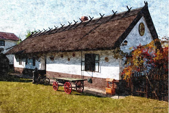 Hungarian farmhouse - John Tiberius aka Johny Rebel