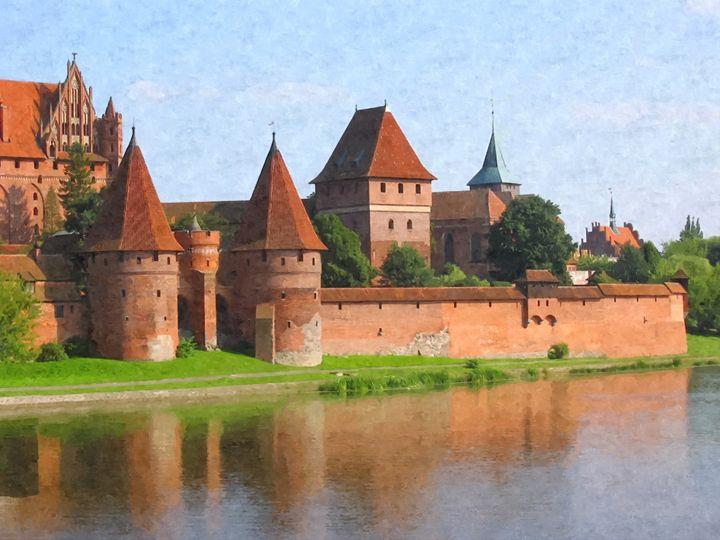 Marienburg The Nest Of Old Teuton Kn - John Tiberius aka Johny Rebel