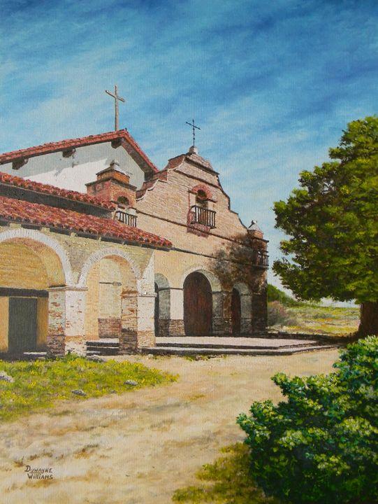 """Mission San Antonio"" - Duwayne Williams Fine Arts"