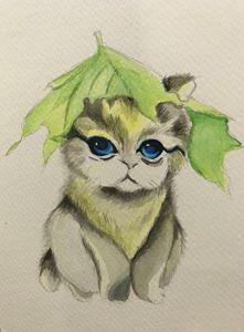 Cat cute cub!