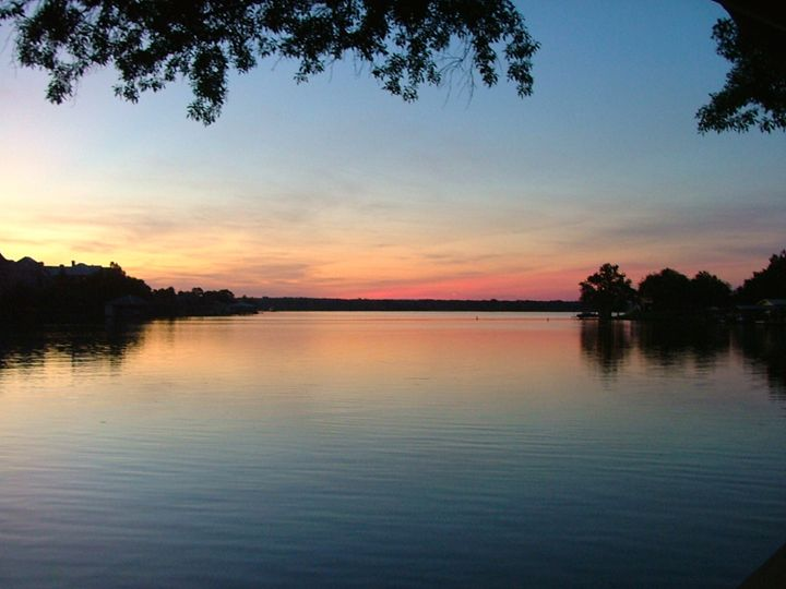 Dusk at the Lake - Art in Life