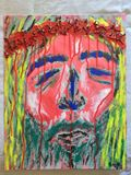 Jesus Christ modern painting