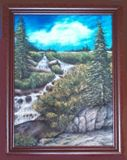 Original Water Based Oil Painting