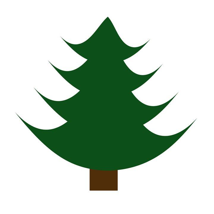 Single large Pine Tree - Laura Nybeck's Art