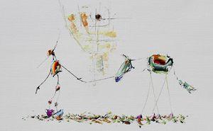 Don quichotte : La marche