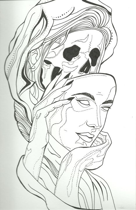 Lady Lamia - Kara Savelli Art