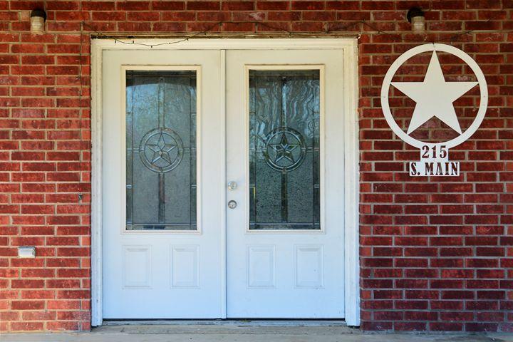 Texas Star Double Doors - Catherine Sherman