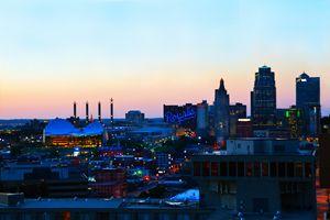 Downtown Kansas City at Sunset - Catherine Sherman