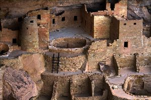 Cliff Palace at Mesa Verde, Colorado - Catherine Sherman