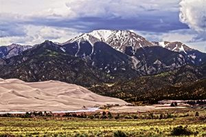 Mount Herard and Great Sand Dunes - Catherine Sherman