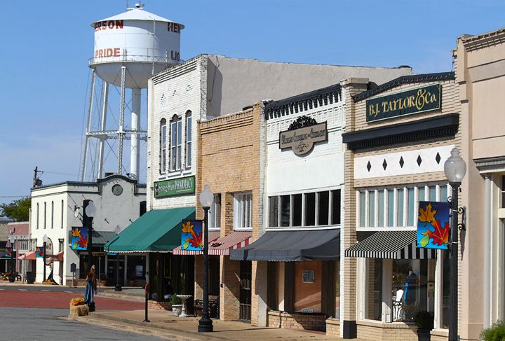 Henderson, Texas, Downtown - Catherine Sherman