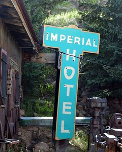 Imperial Hotel Sign, Cripple Creek - Catherine Sherman