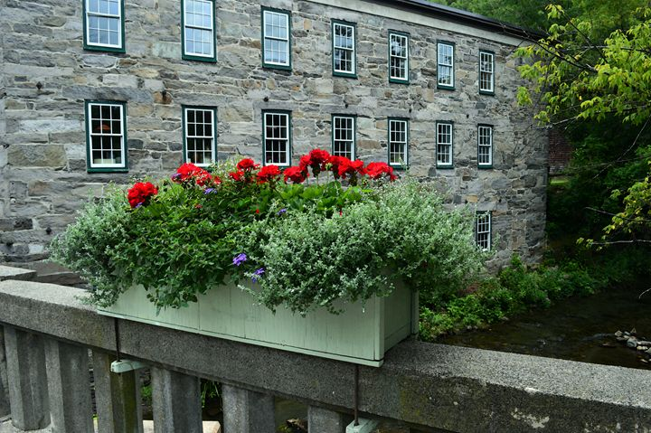 Bridge Flower Box in Vermont - Catherine Sherman