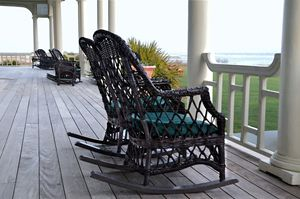 Rocking Chairs on the Porch - Catherine Sherman
