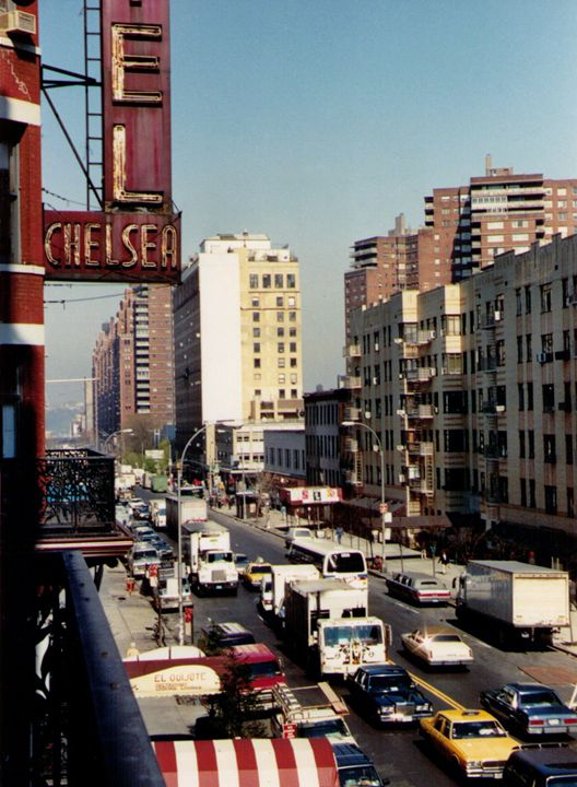Chelsea Hotel, NYC, 1989 photo - Catherine Sherman