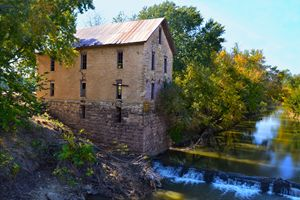 Historic Cedar Point Mill, Kansas - Catherine Sherman