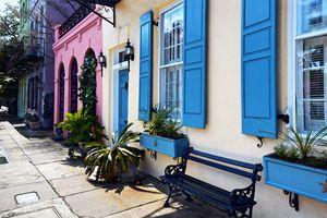 Rainbow Colors in Charleston - Catherine Sherman