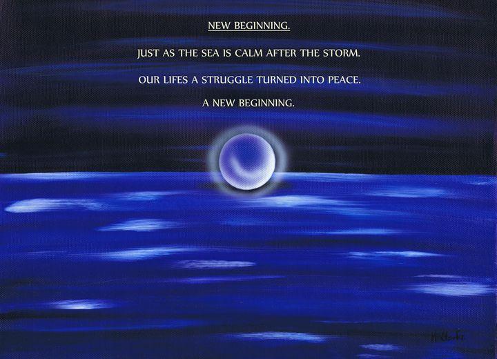 New Beginnings. - Kenneth Clarke Artist.