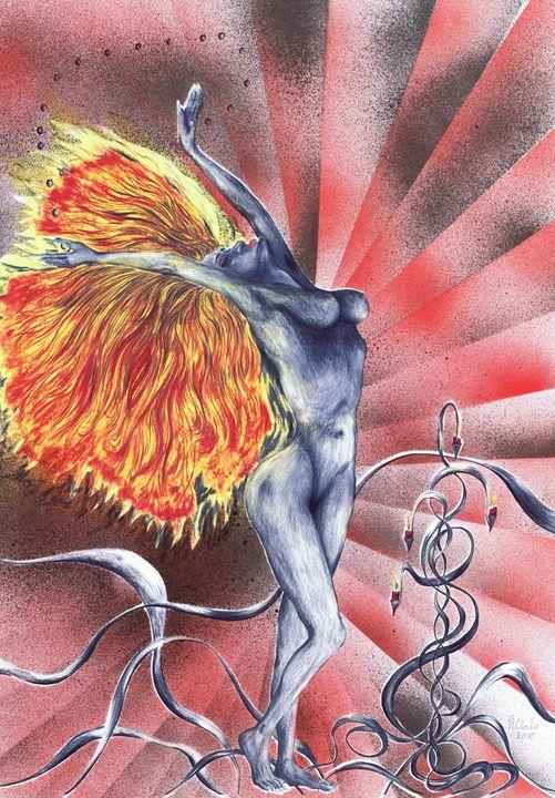 Inferno. - Kenneth Clarke Artist.