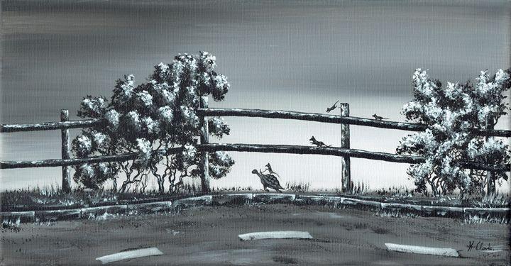 Road Runner. - Kenneth Clarke Artist.