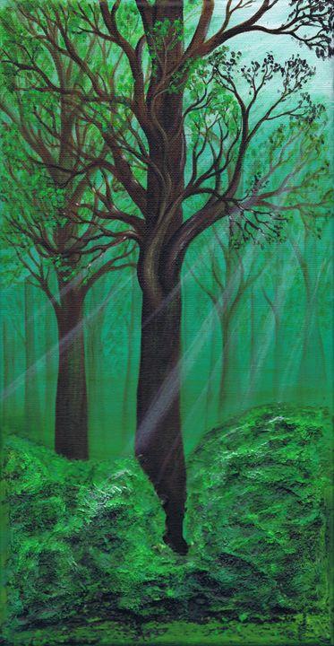 Breaking Light - Kenneth Clarke Artist.