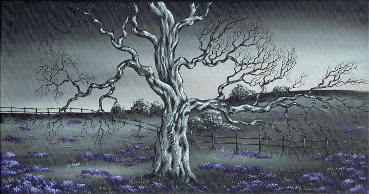 Big Old Tree. - Kenneth Clarke Artist.