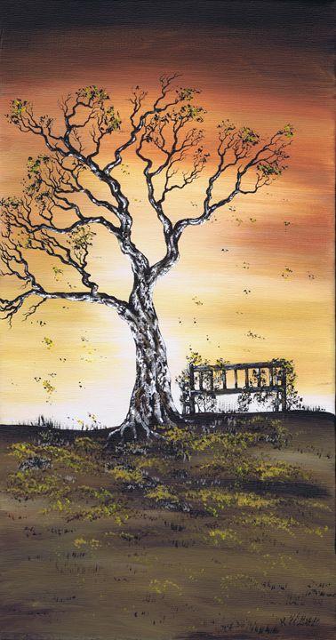 Autumn Fall. - Kenneth Clarke Artist.