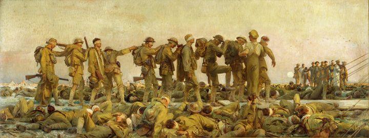 Blinded By War - HistoryAntics