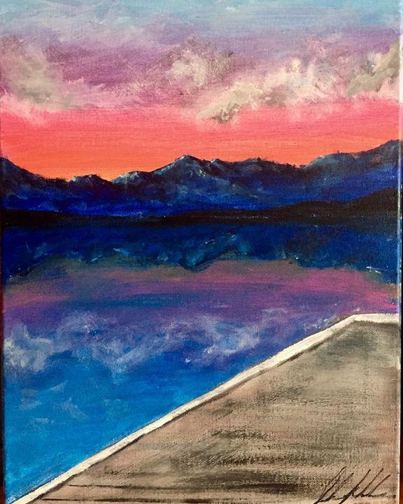 Colors Of Flathead Lake - Sarah Kleinhans