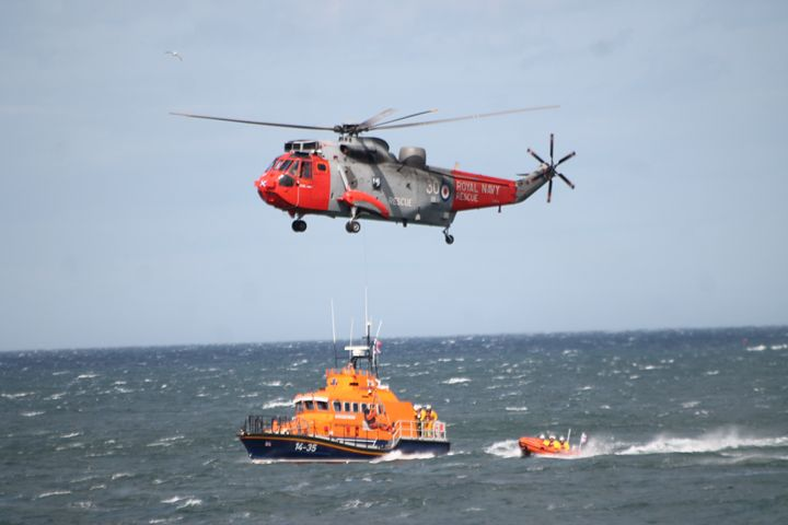 S.A.R Lifeboats & Helicopter - Graham Bruce Photography