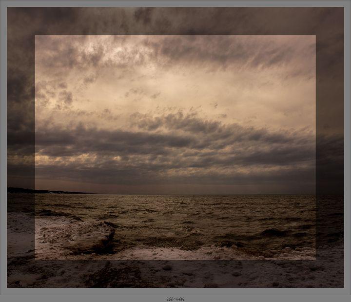 Stormy Day on Lake Michigan - SEGG Media