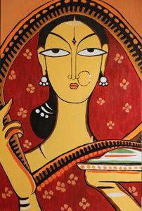 The Santhal Lady