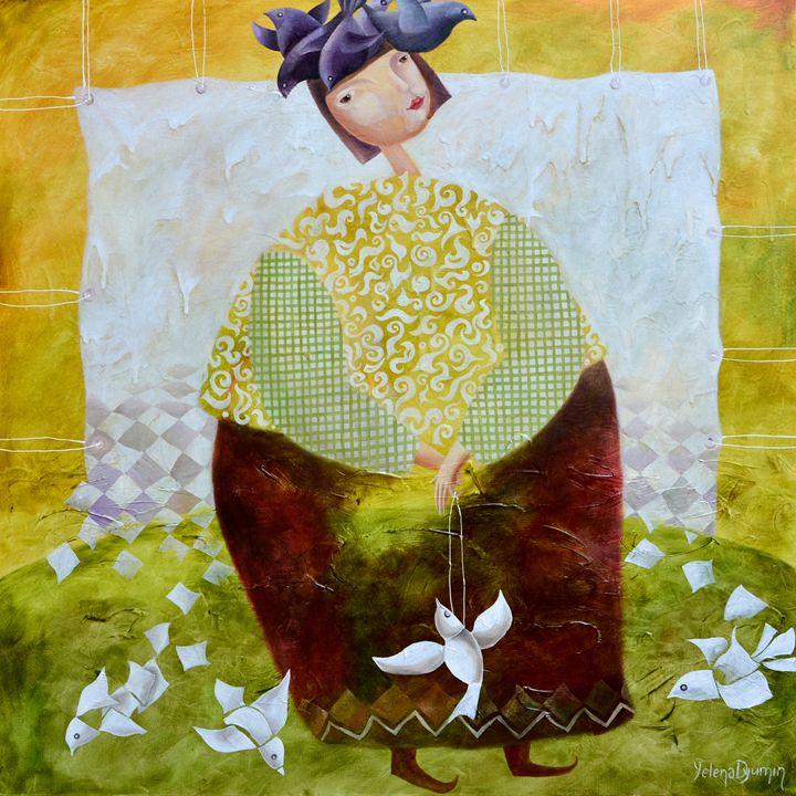Paper pigeons - Yelena Dyumin
