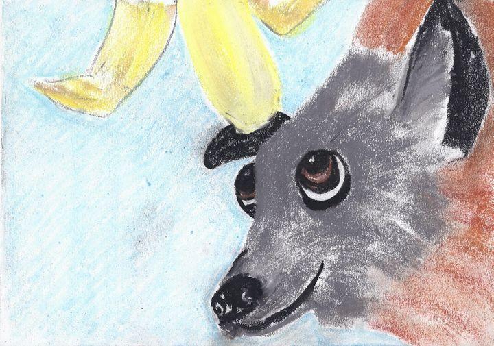Frederick the Grey Headed Flying Fox - Andrea Devos