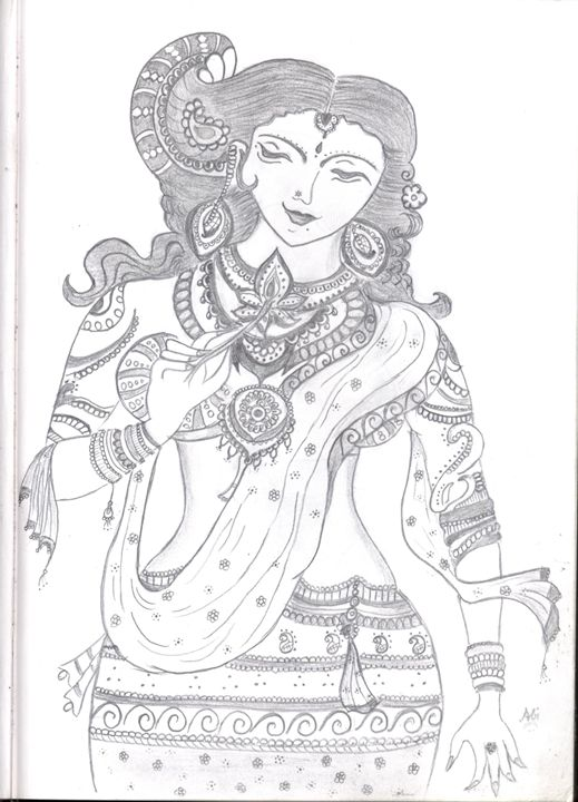Ancient Indian Women - My Book of Art