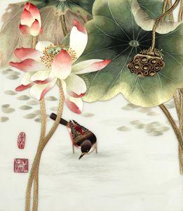 Lotus birds 1